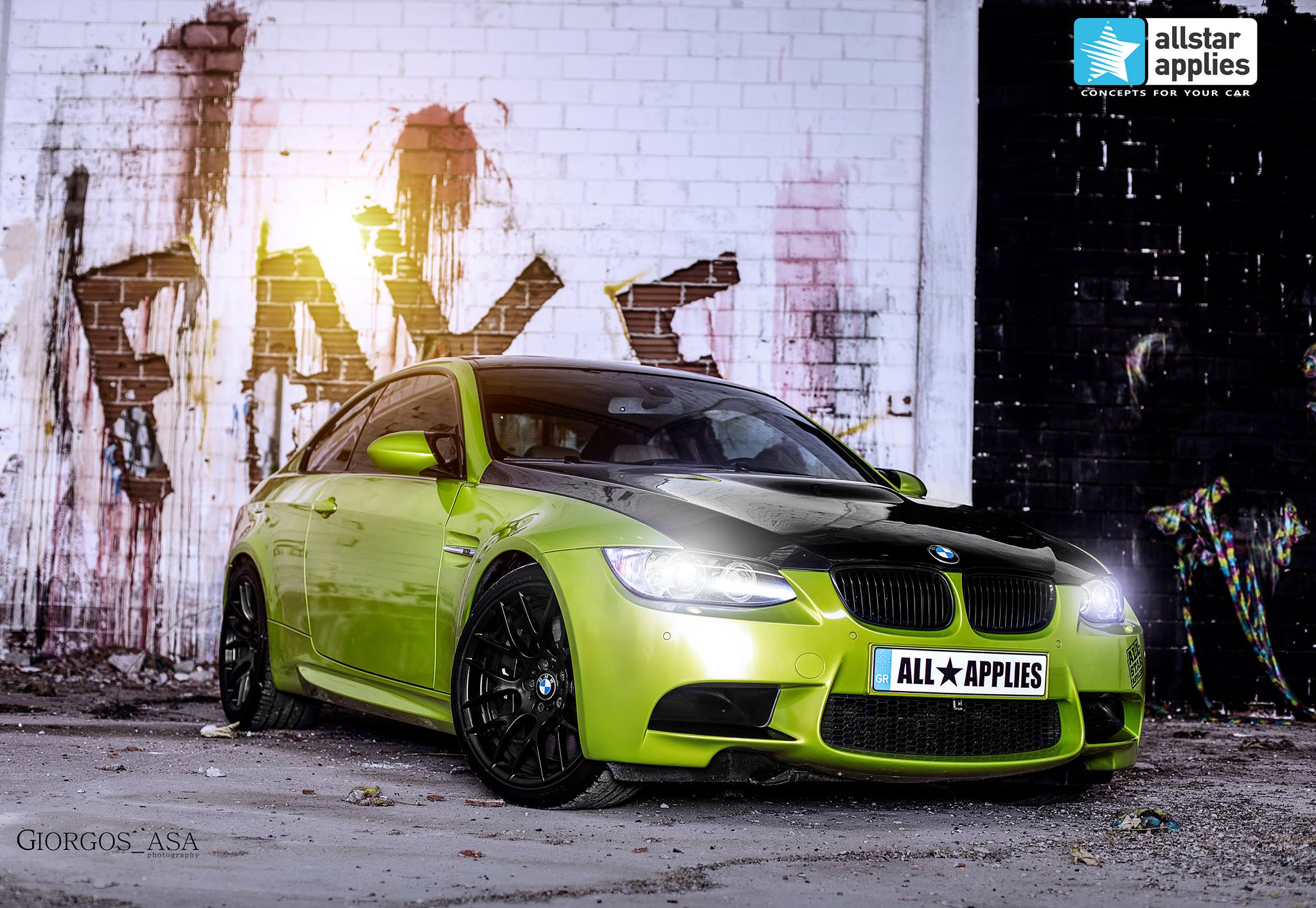 Bmw M3 - Electric Lime (1)