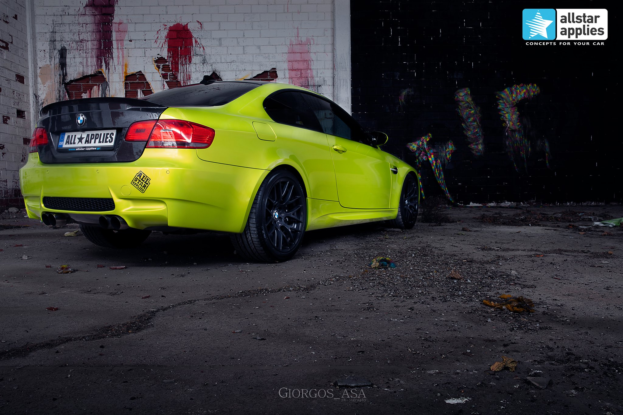 Bmw M3 - Electric Lime (3)