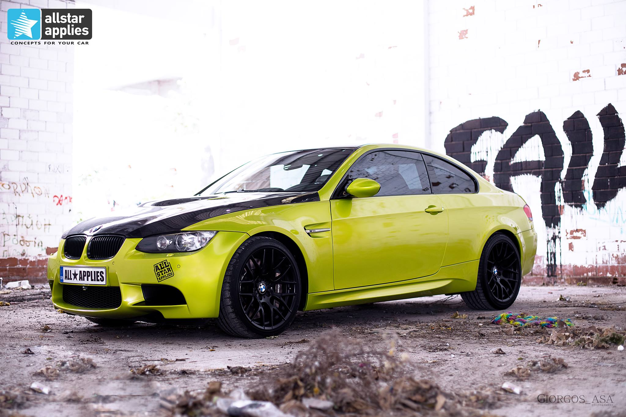 Bmw M3 - Electric Lime (4)