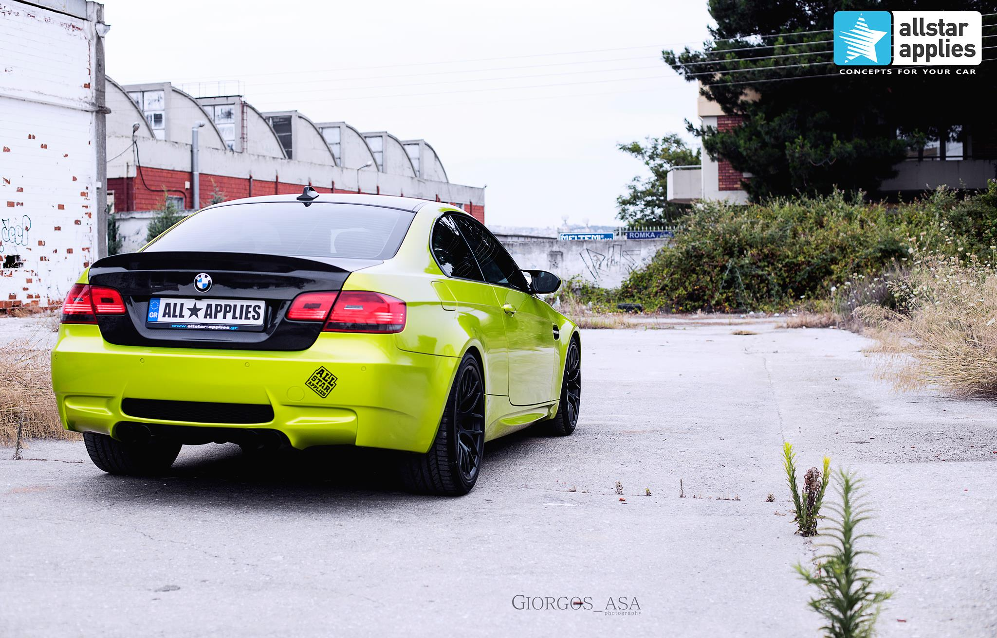 Bmw M3 - Electric Lime (5)