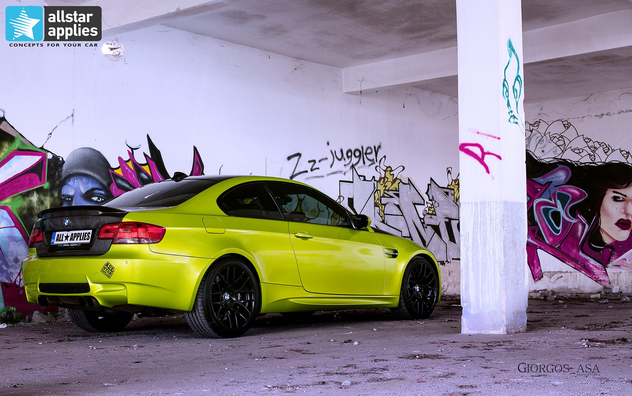 Bmw M3 - Electric Lime (6)