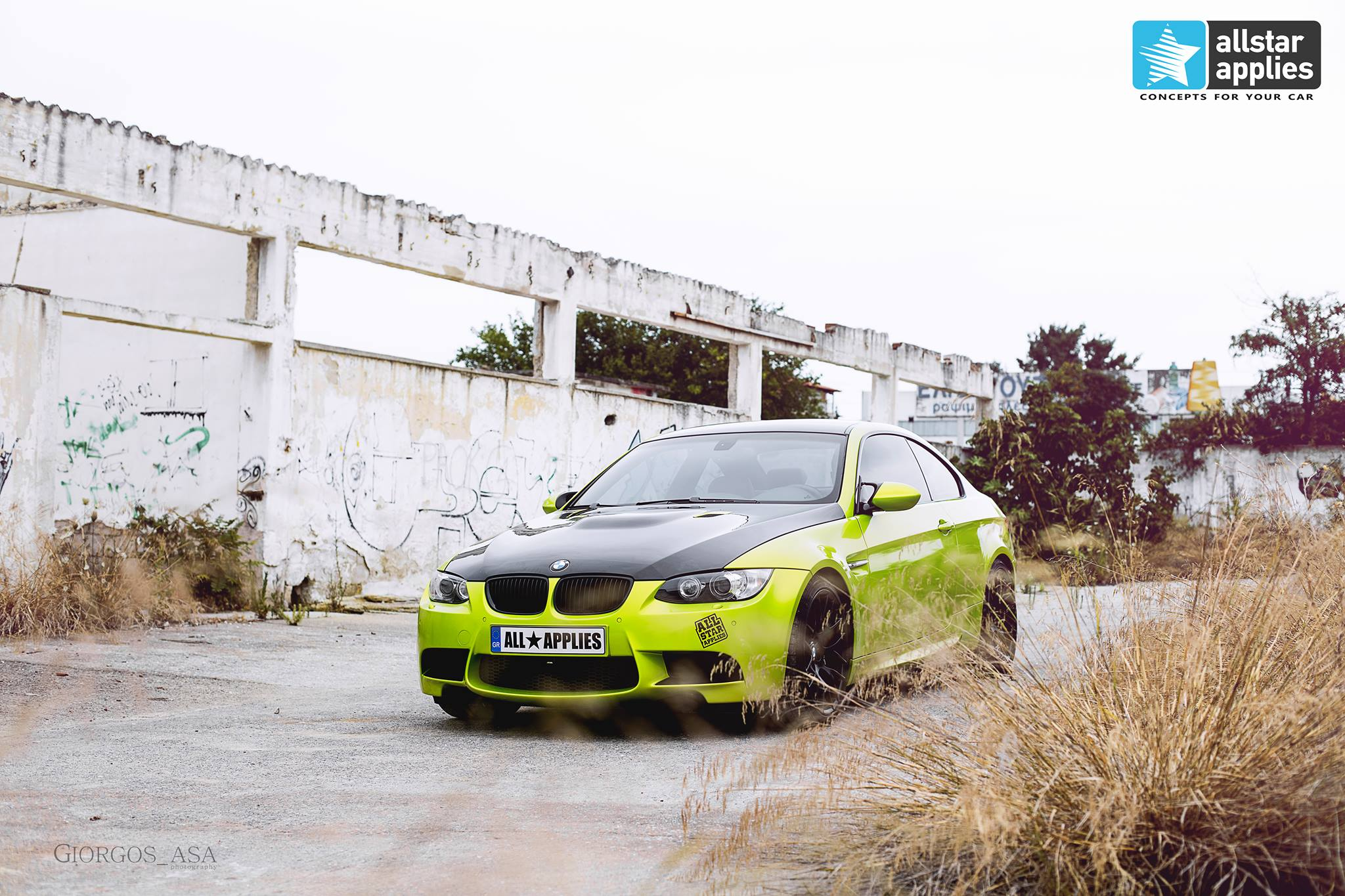 Bmw M3 - Electric Lime (7)