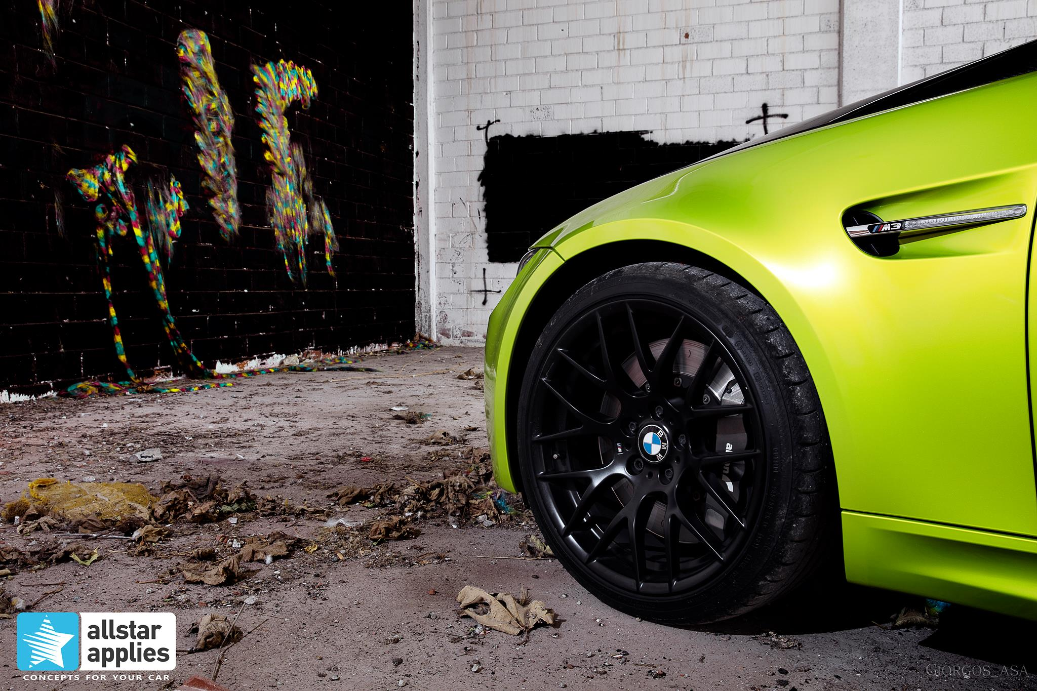Bmw M3 - Electric Lime (9)