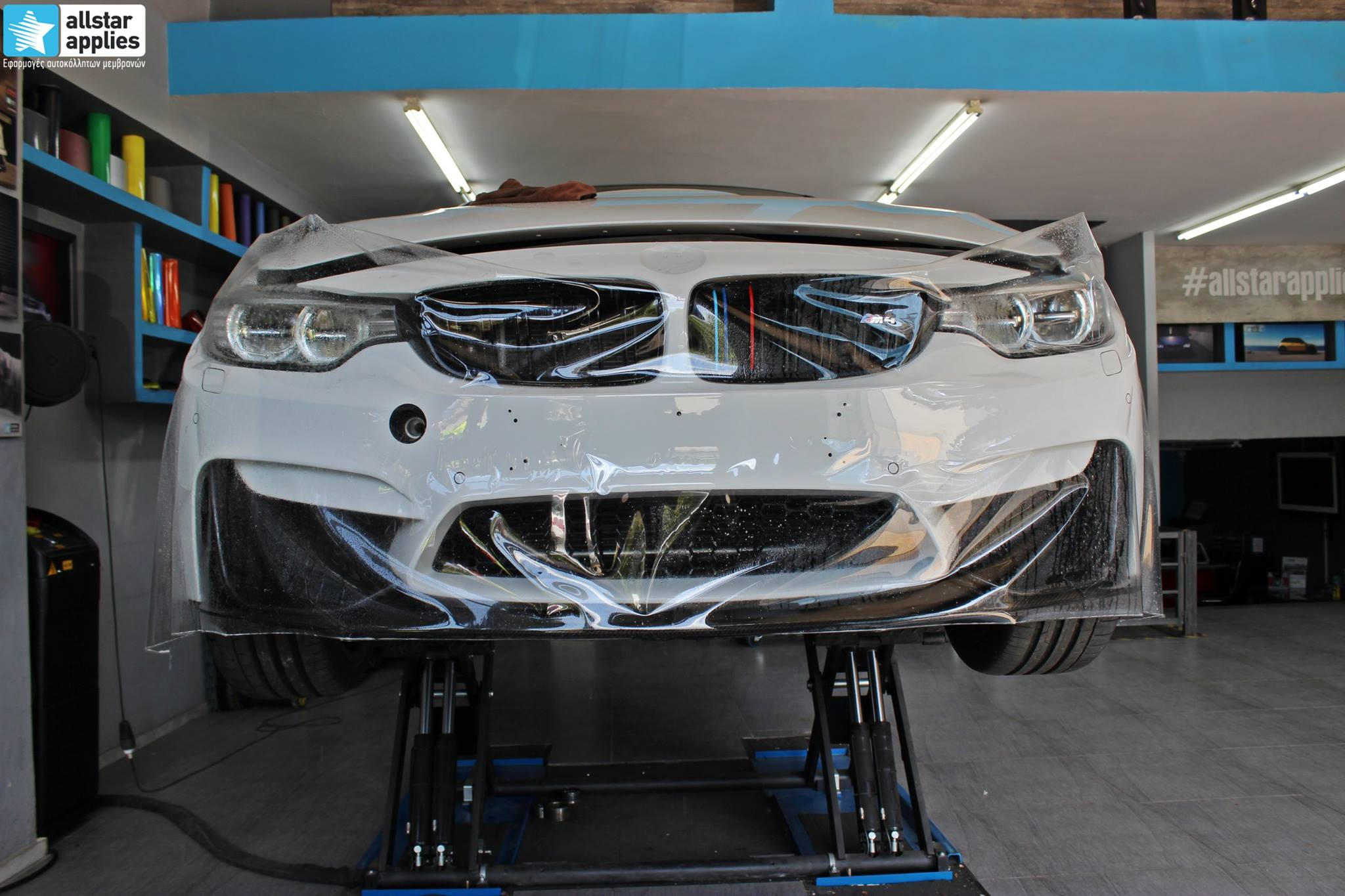 Bmw M4 - Protection Film (PPF) (1)
