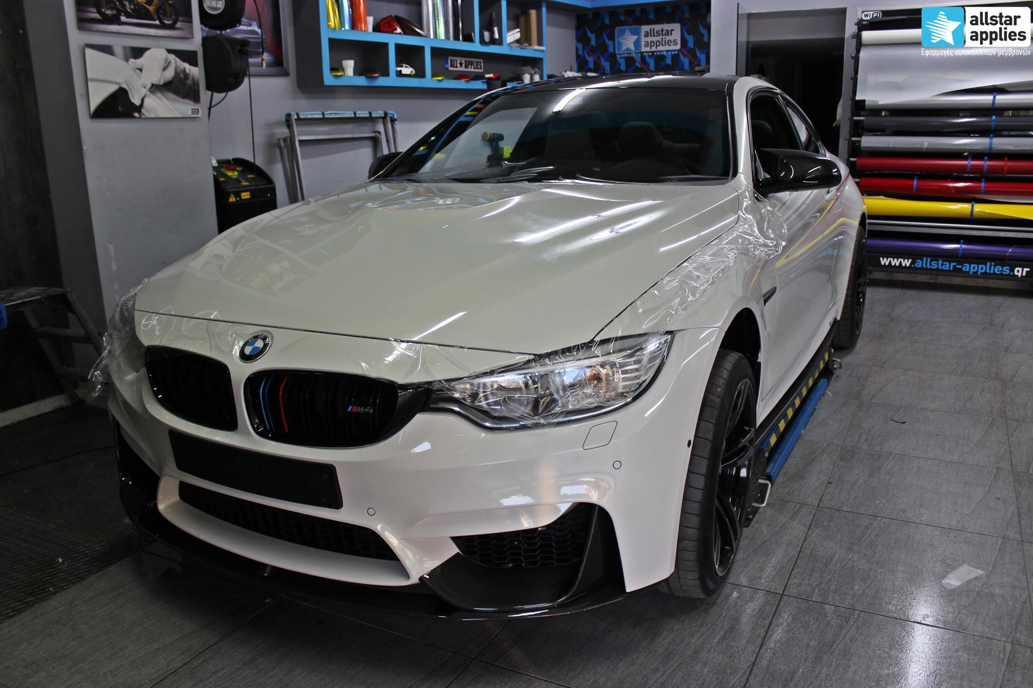 Bmw M4 - Protection Film (PPF) (3)