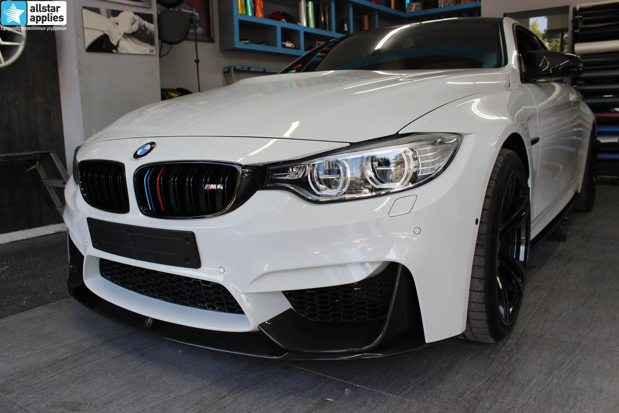 Bmw M4 - Protection Film (PPF) (5)