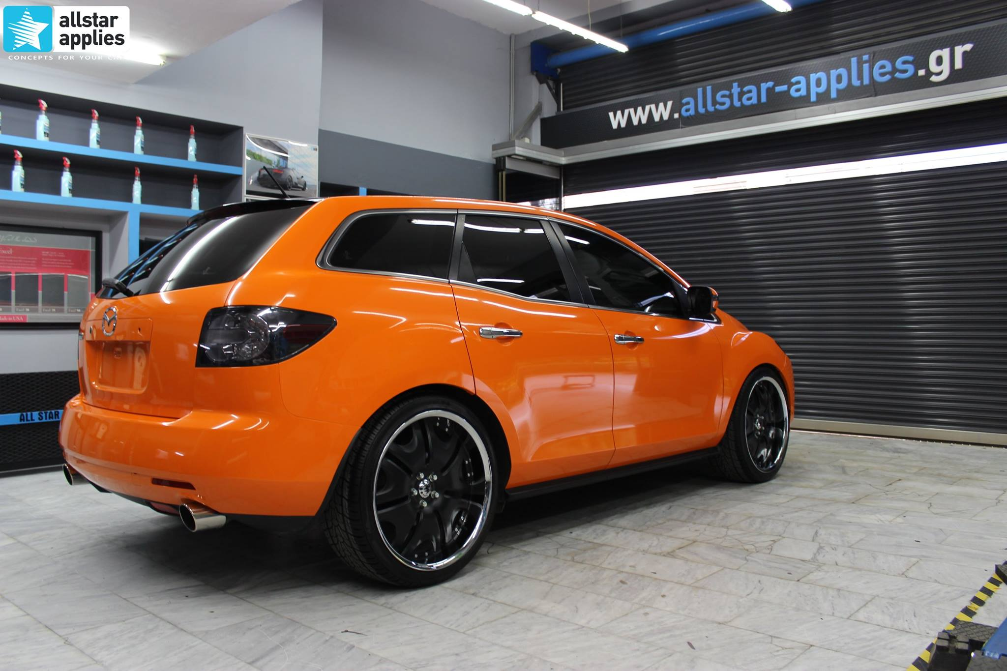 Mazda CX-7 Orange Gloss (1)