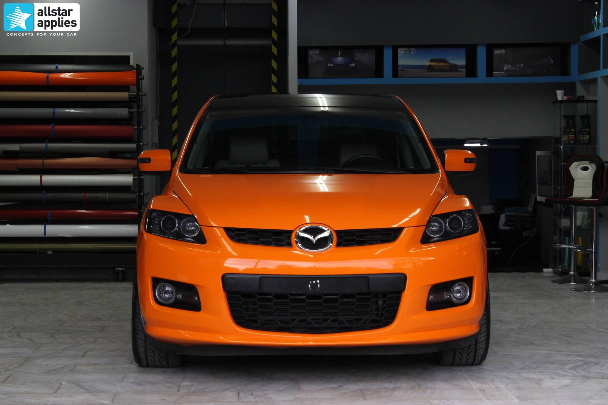 Mazda CX-7 Orange Gloss (2)