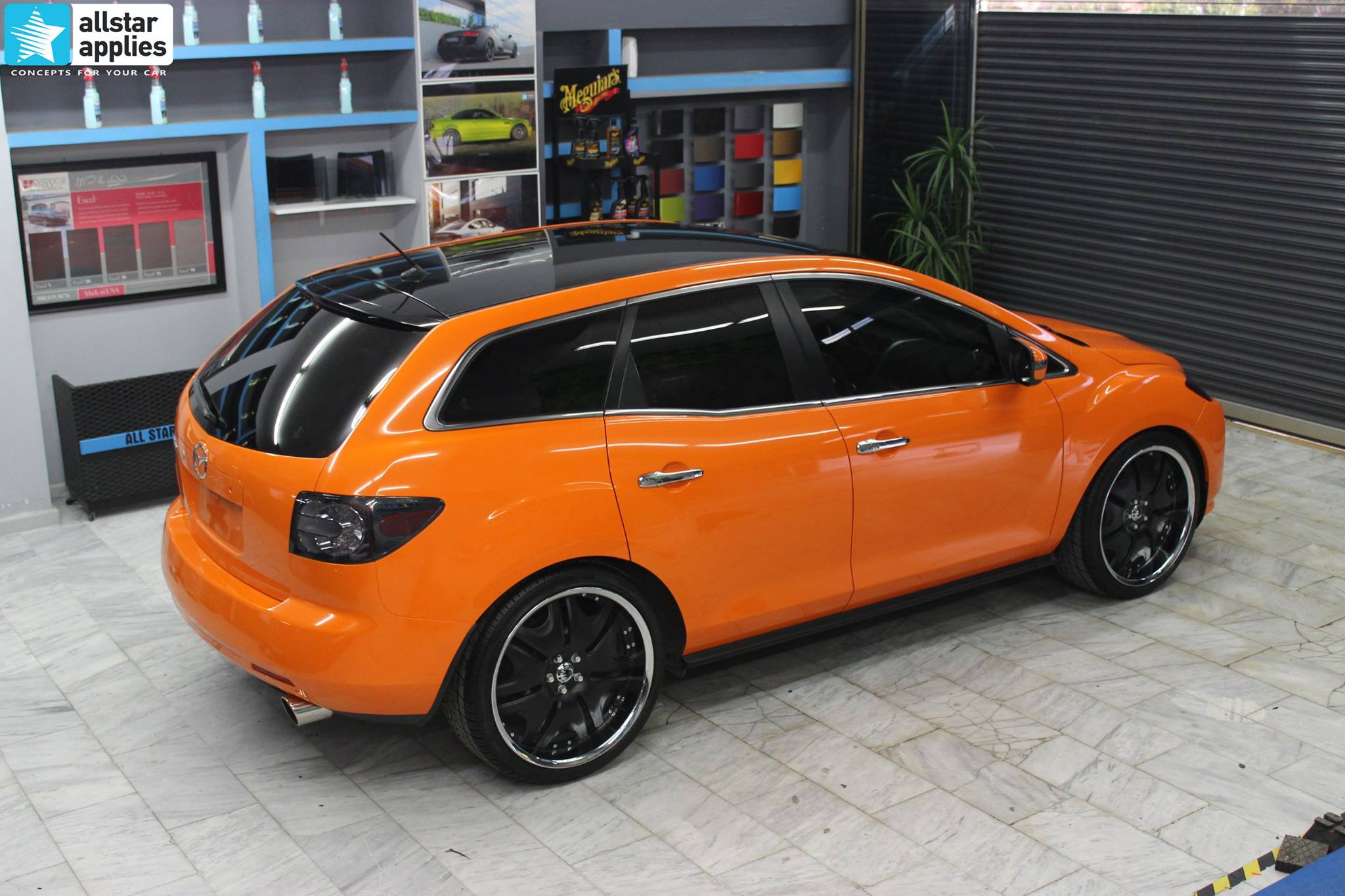 Mazda CX-7 Orange Gloss (4)