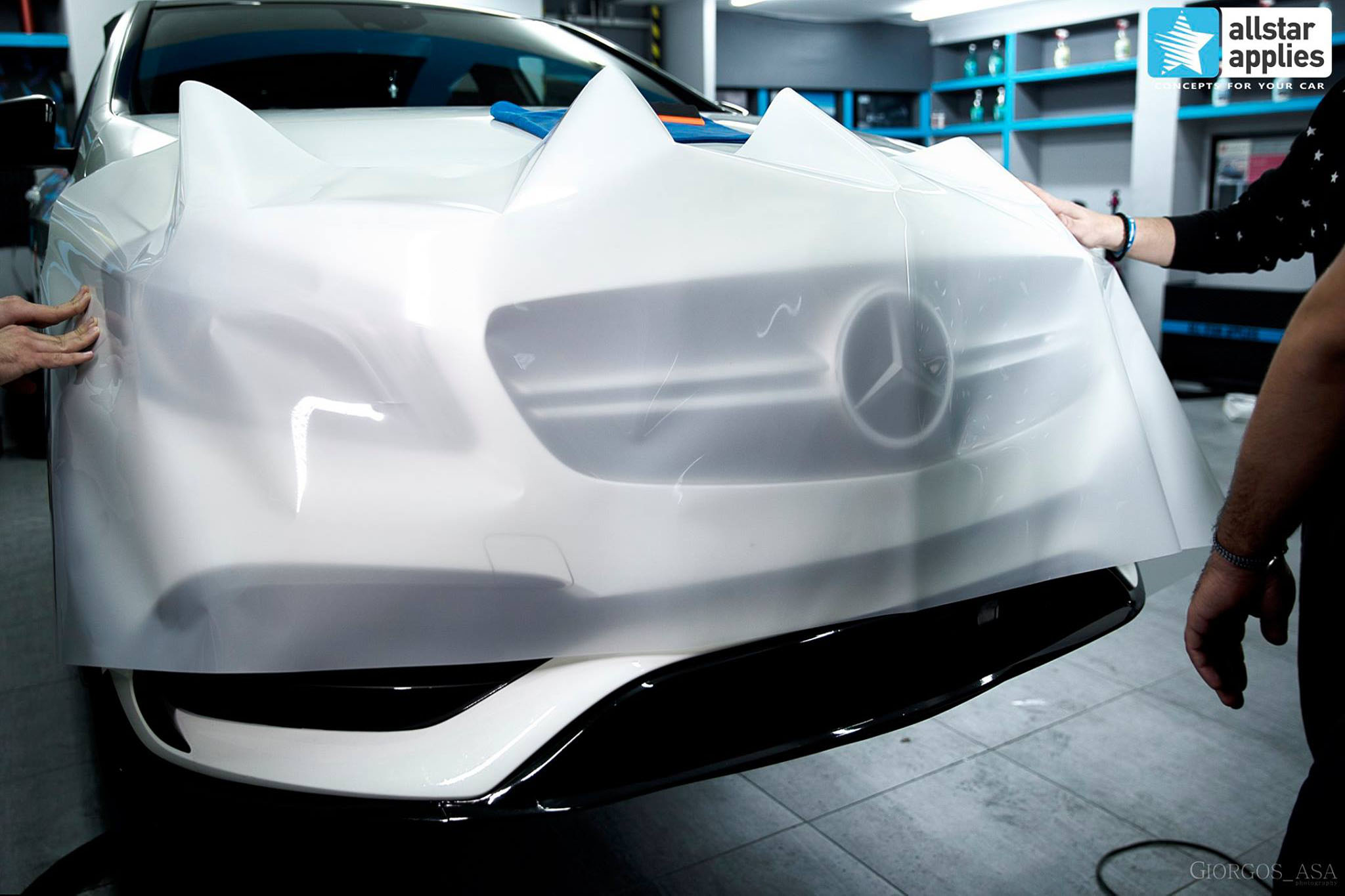 Mercedes AMG 45 – Paint Protection Film (1)