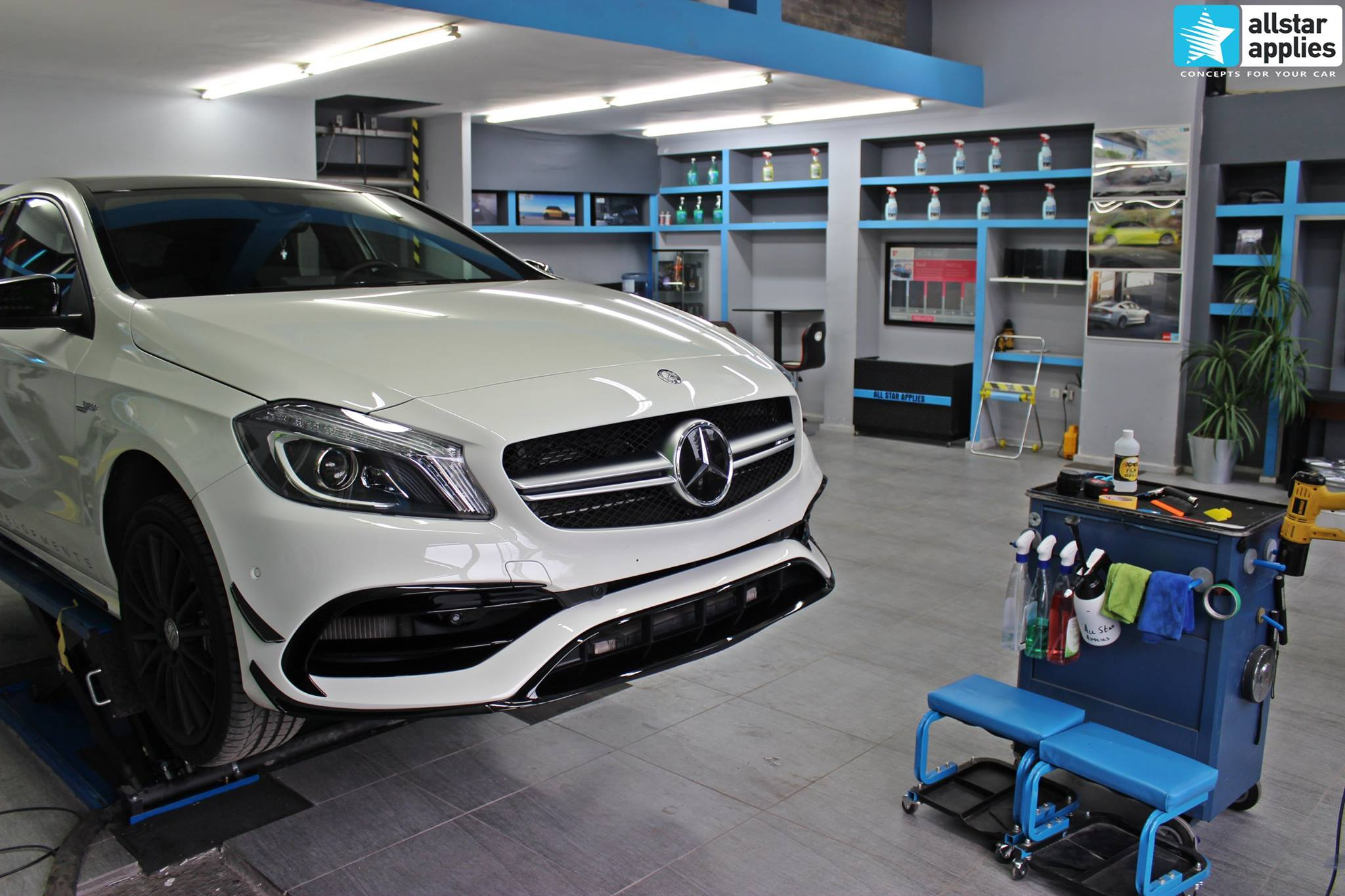 Mercedes AMG 45 – Paint Protection Film (12)