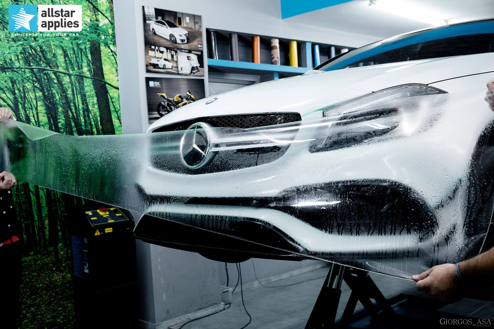 Mercedes AMG 45 – Paint Protection Film (2)