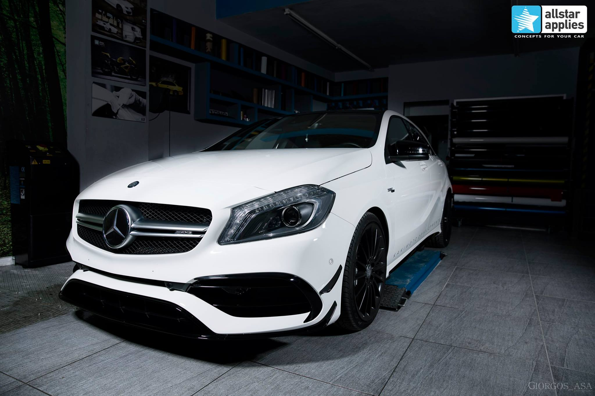 Mercedes AMG 45 – Paint Protection Film (3)