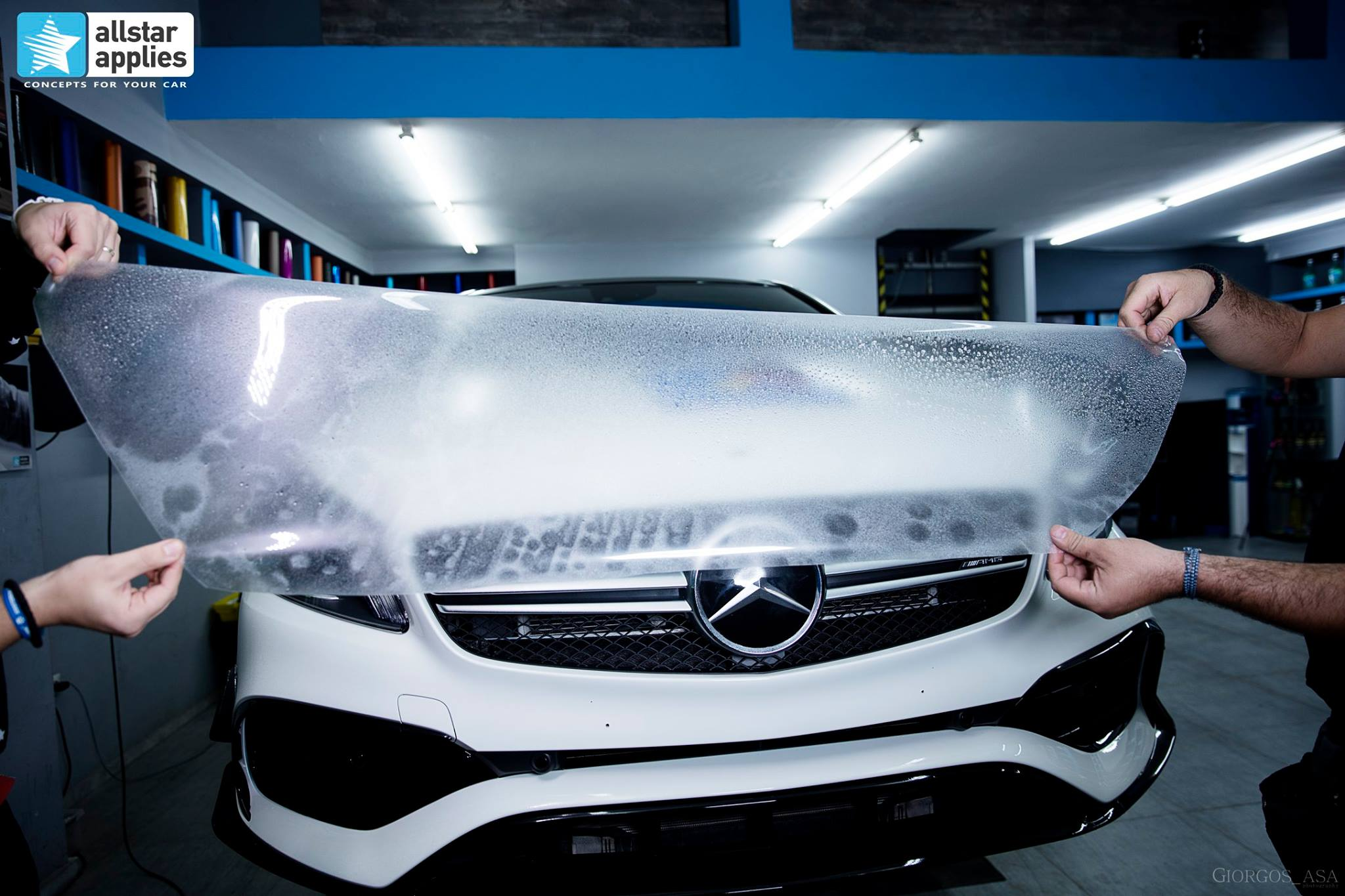 Mercedes AMG 45 – Paint Protection Film (4)