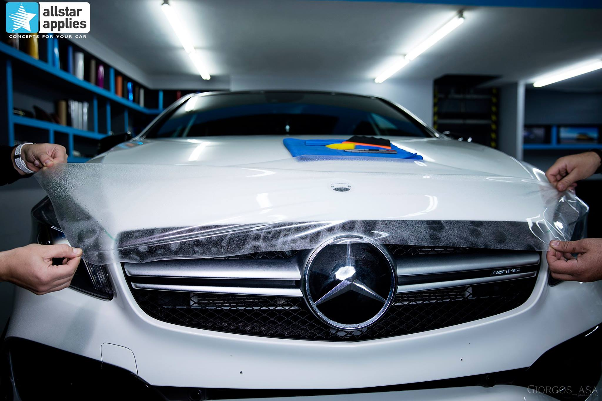 Mercedes AMG 45 – Paint Protection Film (5)