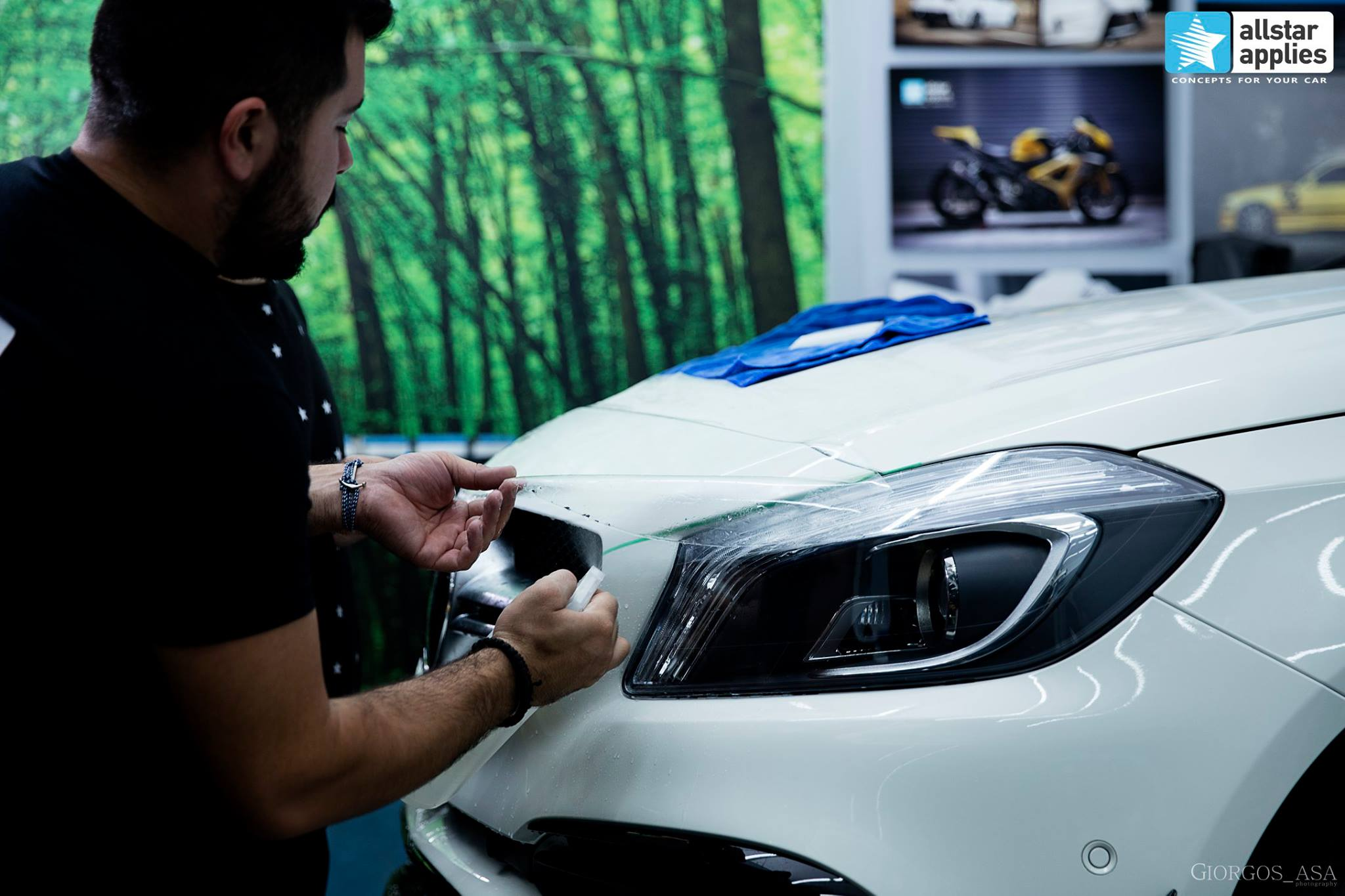 Mercedes AMG 45 – Paint Protection Film (7)