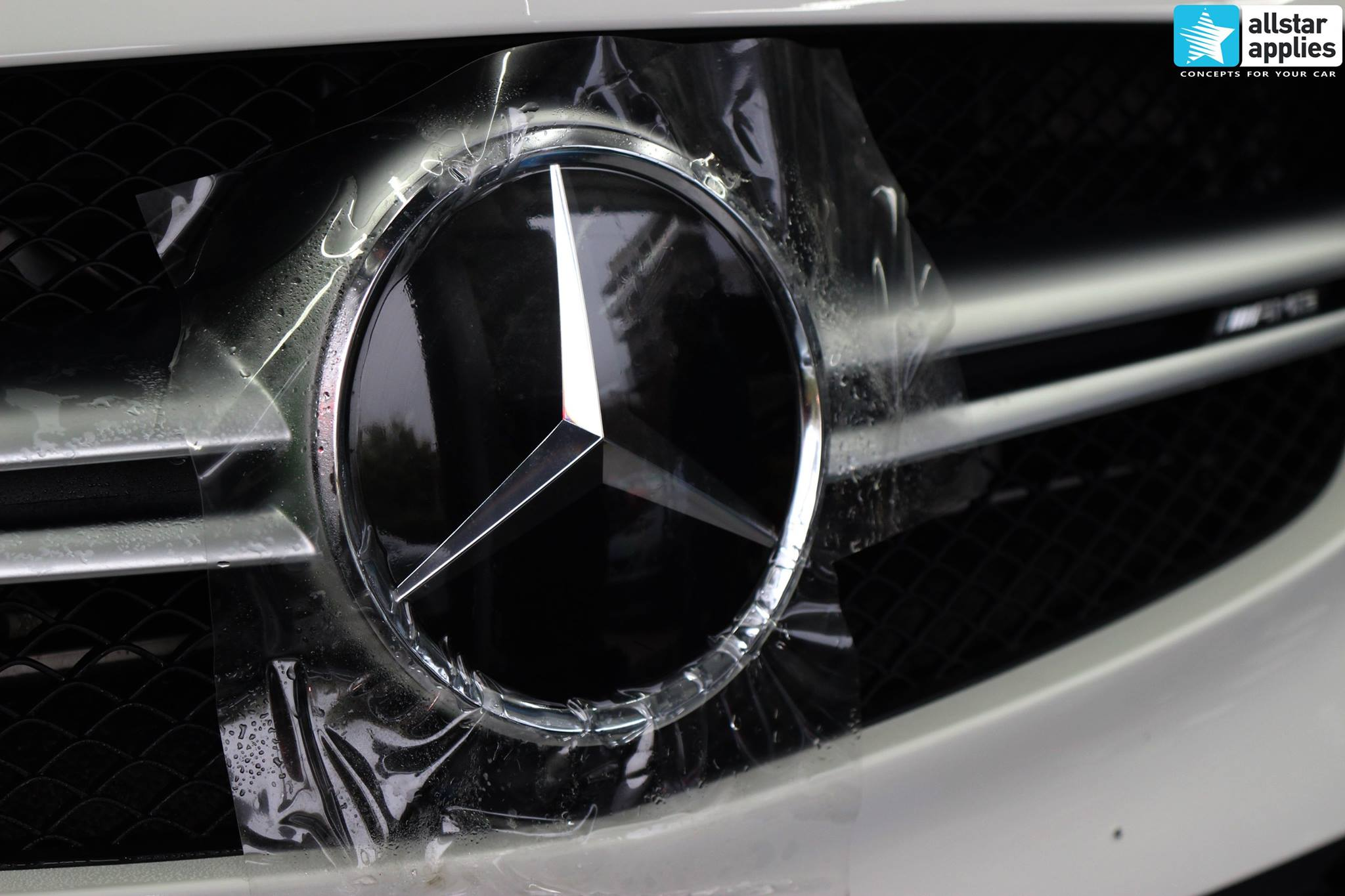 Mercedes AMG 45 – Paint Protection Film (9)