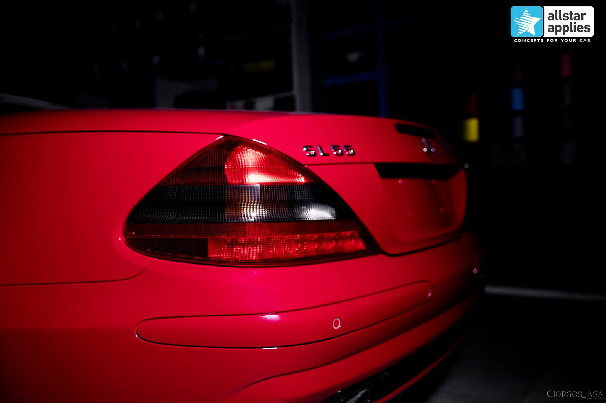 Mercedes SL55 AMG - Red Dark Metallic (10)