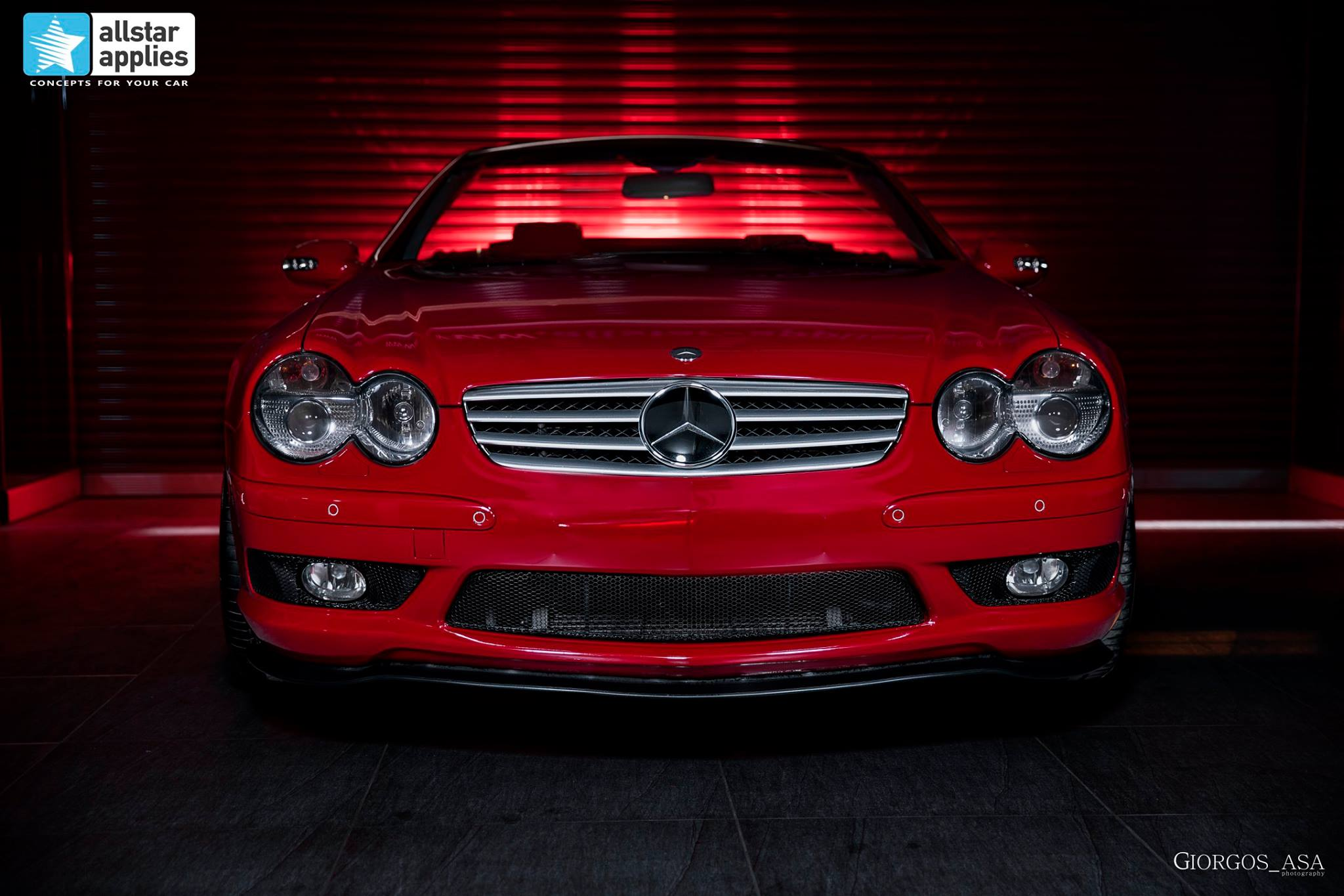 Mercedes SL55 AMG - Red Dark Metallic (3)