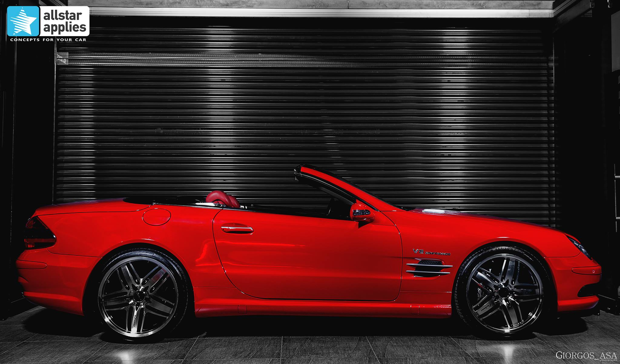 Mercedes SL55 AMG - Red Dark Metallic (6)6