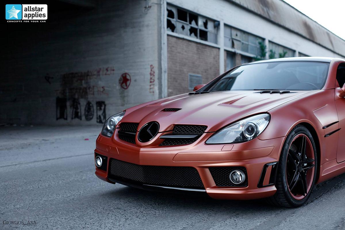 Mercedes SLK AMG - Red Copper Matte (1)