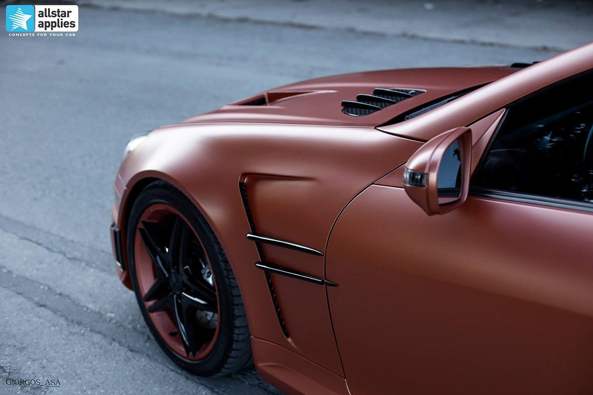 Mercedes SLK AMG - Red Copper Matte (10)