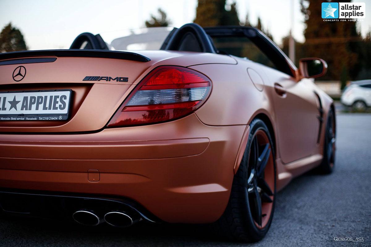 Mercedes SLK AMG - Red Copper Matte (11)