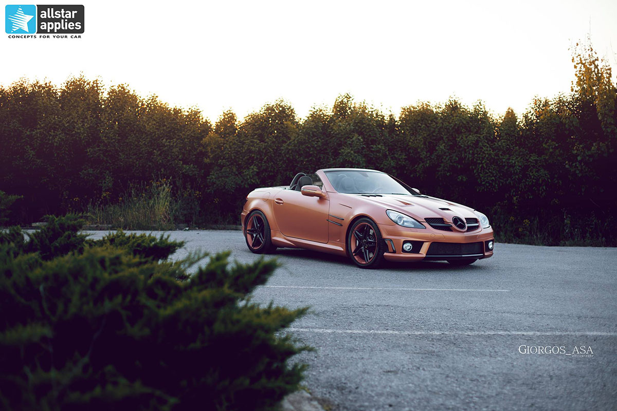 Mercedes SLK AMG - Red Copper Matte (12)