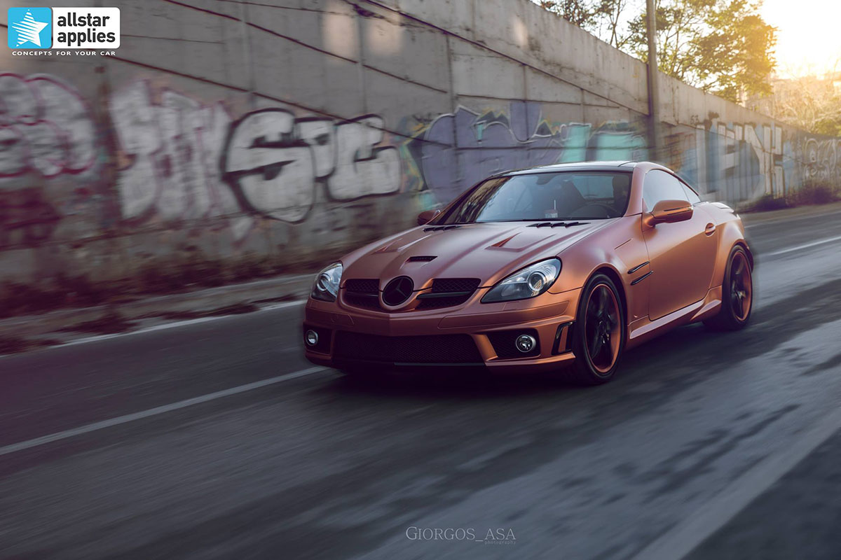 Mercedes SLK AMG - Red Copper Matte (13)