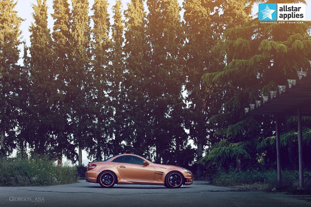 Mercedes SLK AMG - Red Copper Matte (2)