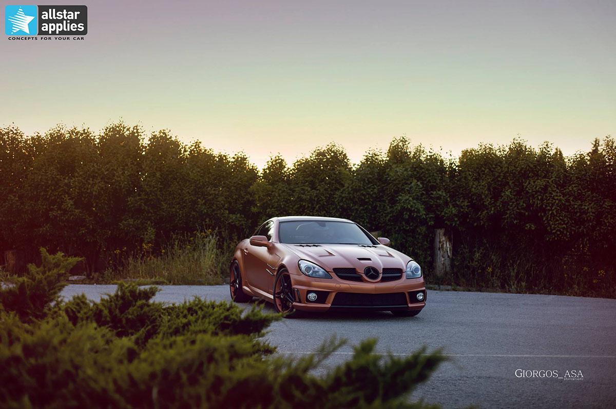 Mercedes SLK AMG - Red Copper Matte (3)