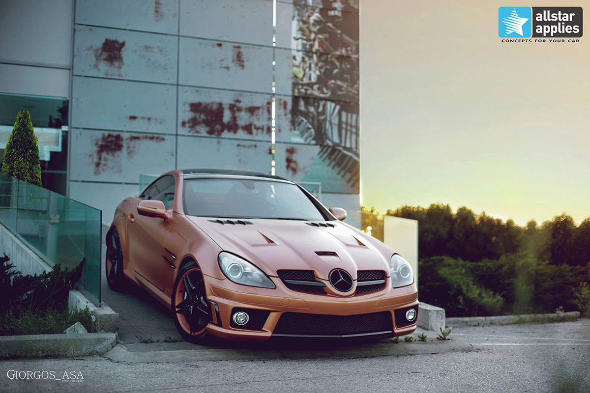 Mercedes SLK AMG - Red Copper Matte (5)