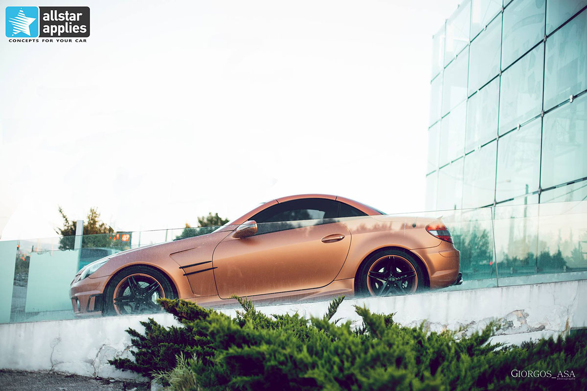 Mercedes SLK AMG - Red Copper Matte (6)