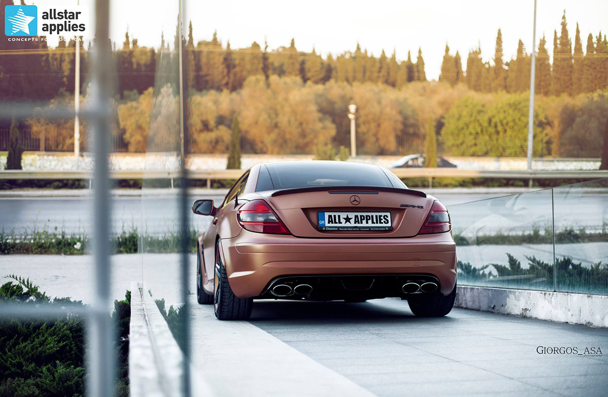 Mercedes SLK AMG - Red Copper Matte (7)