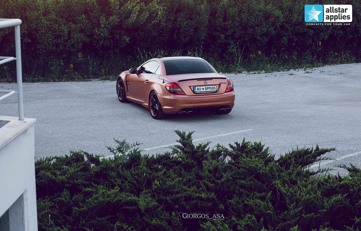 Mercedes SLK AMG - Red Copper Matte (9)
