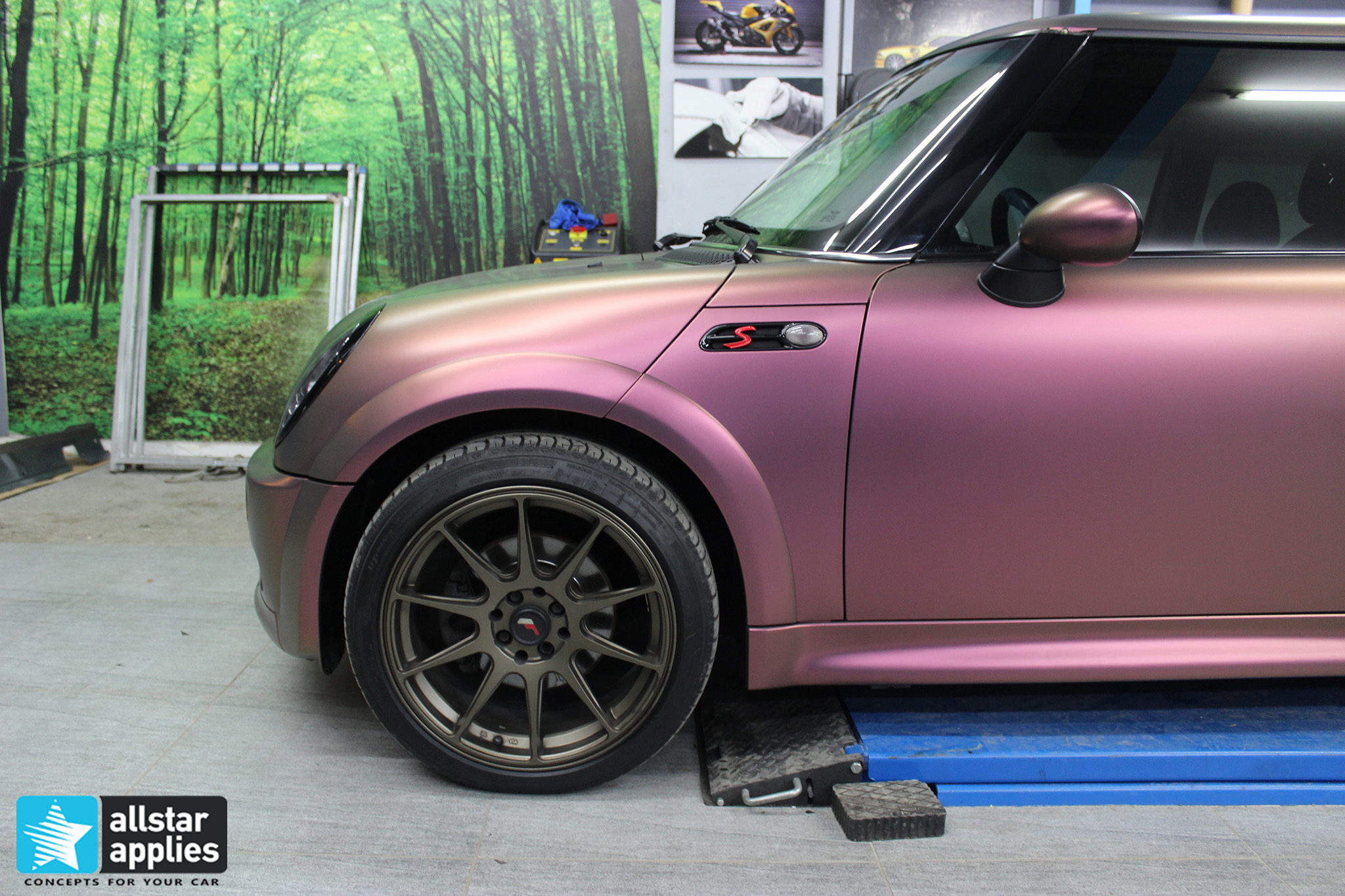 μεμβρανη αλλαγης χρωματος αυτοκινητου θεσσαλονικη