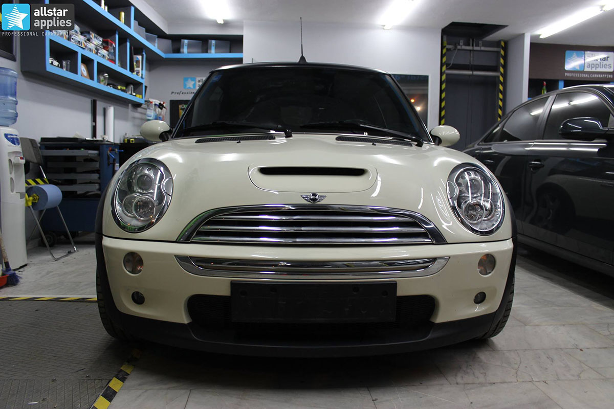 Mini Cooper S - Dark Grey Matte & Louis Vuitton Design (13)