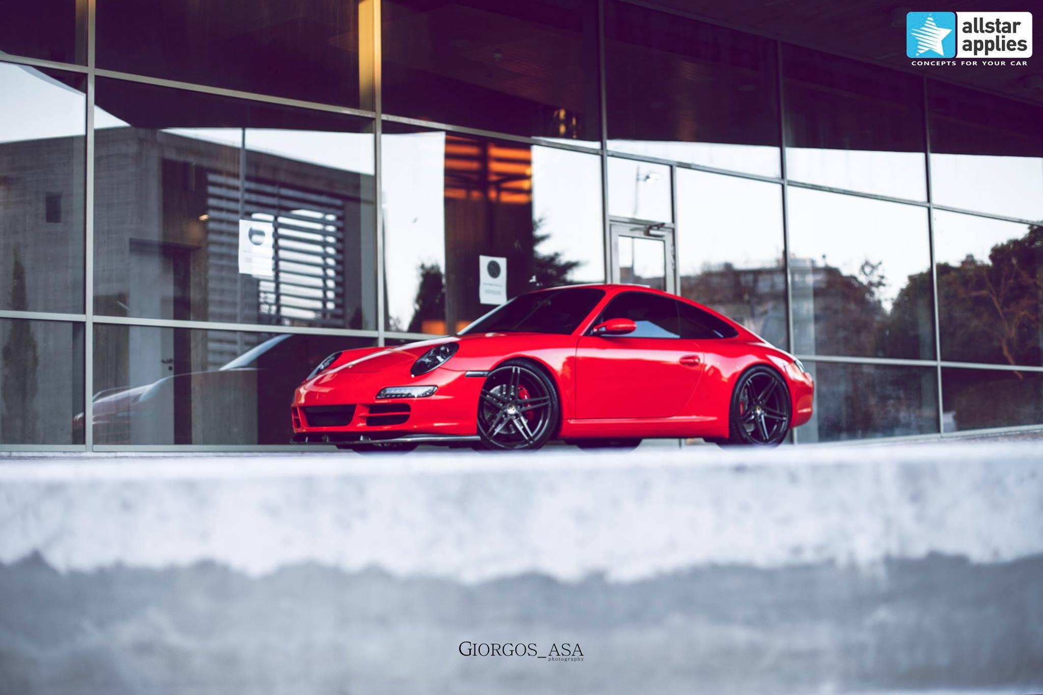 Porsche Carrera 4S - Redhot Gloss (3)