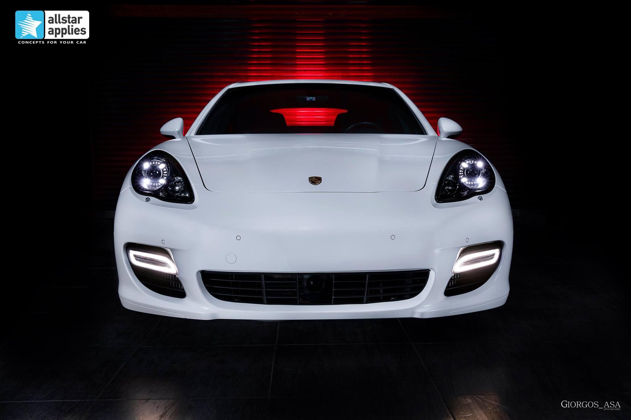 Porsche Panamera Turbo S – White Metallic (1)
