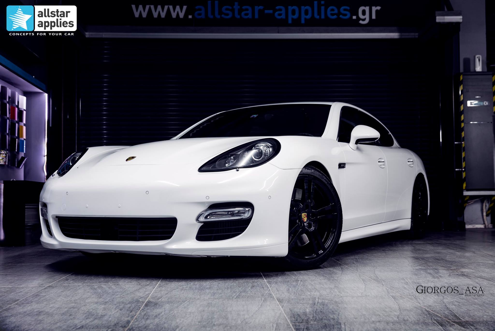Porsche Panamera Turbo S – White Metallic (2)