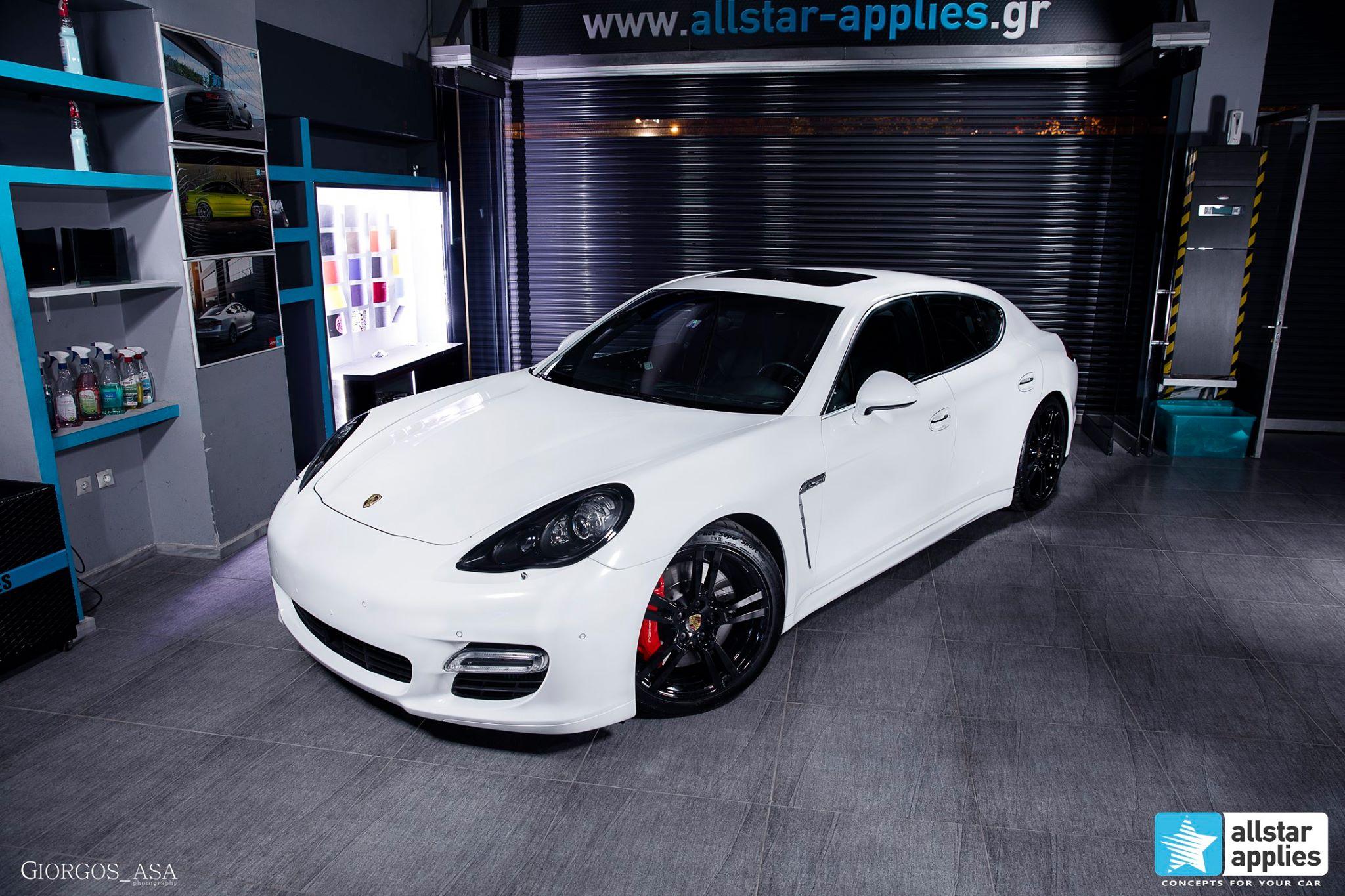 Porsche Panamera Turbo S – White Metallic (3)