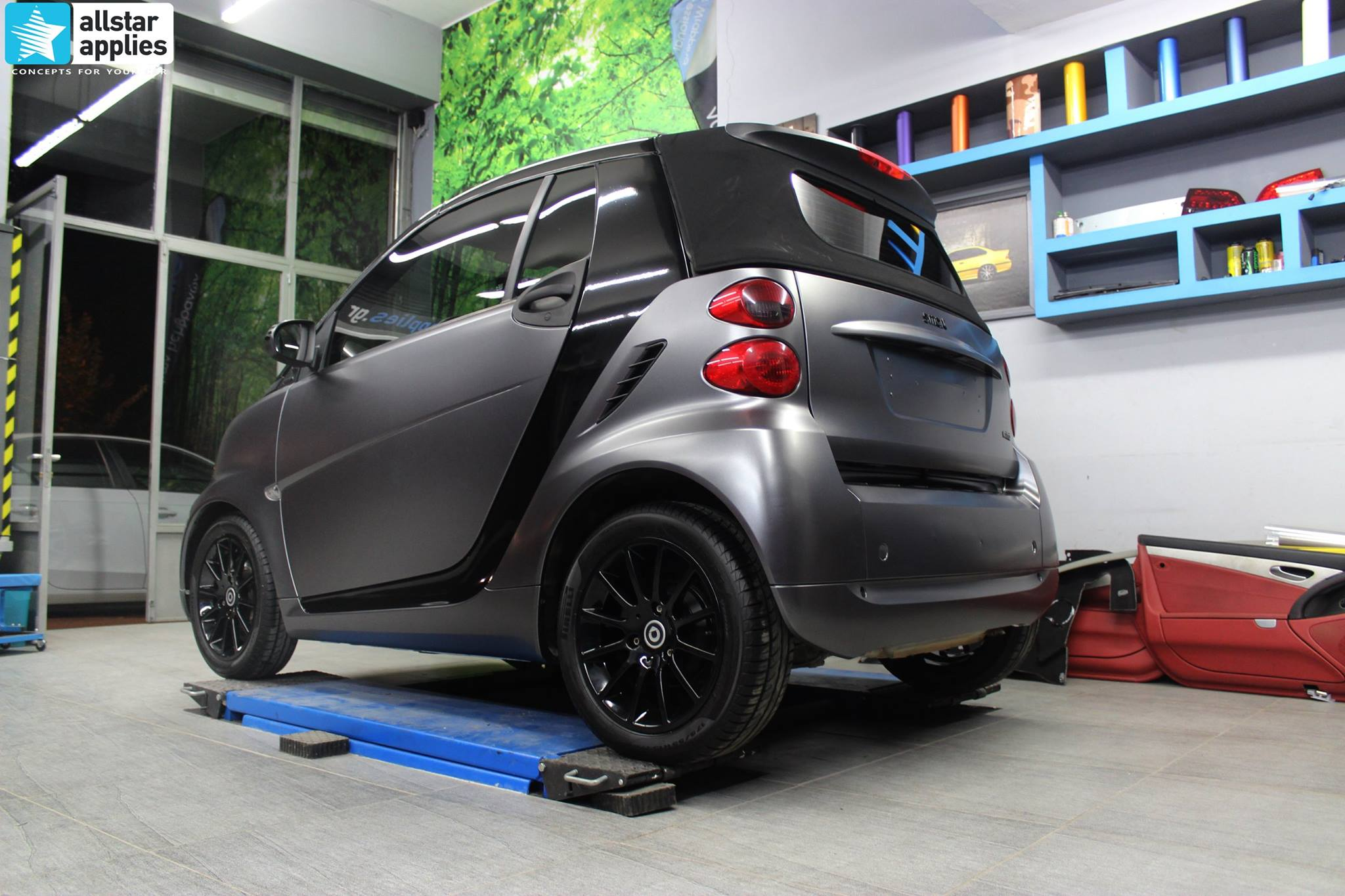 Smart ForTwo - Satin Dark Grey (5)