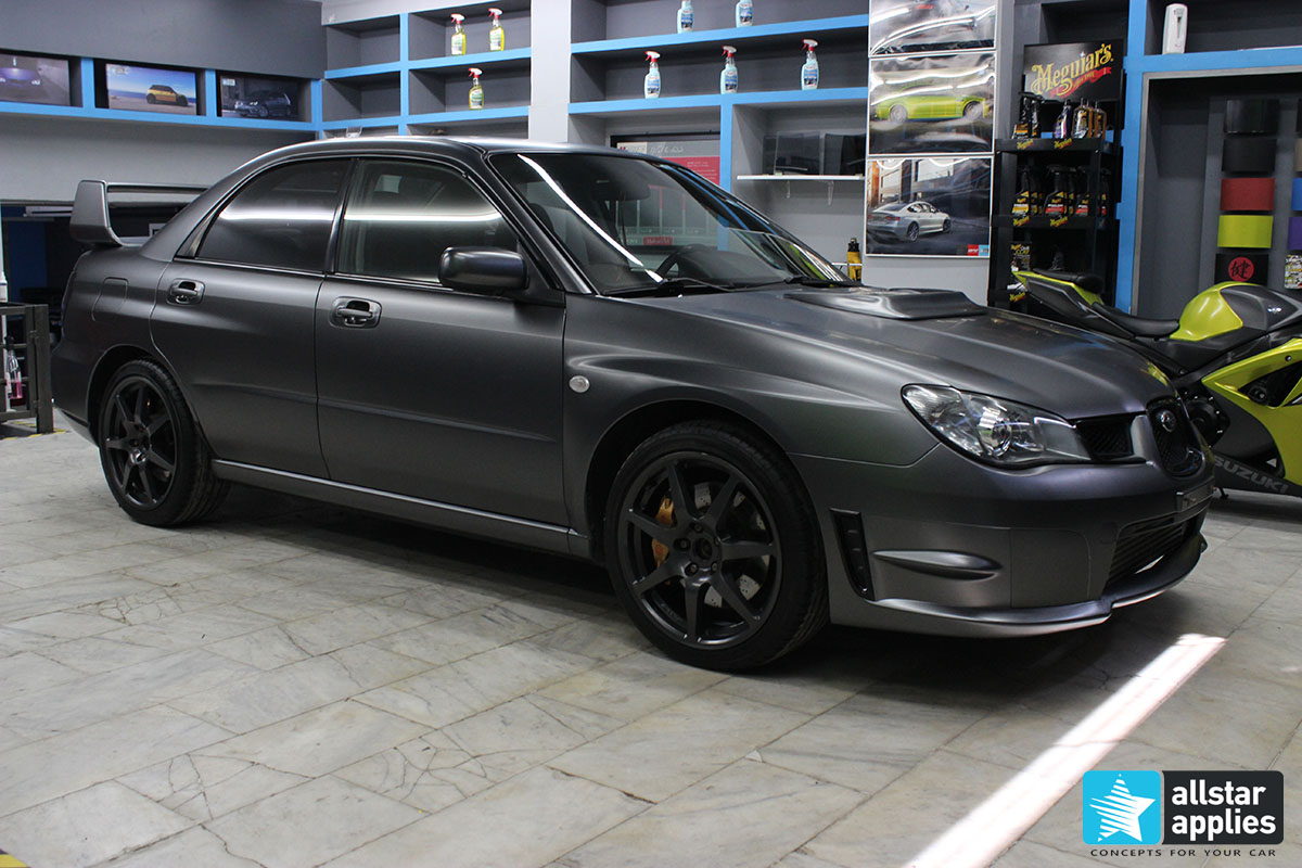 Subaru STI - Satin Dark Grey (3)