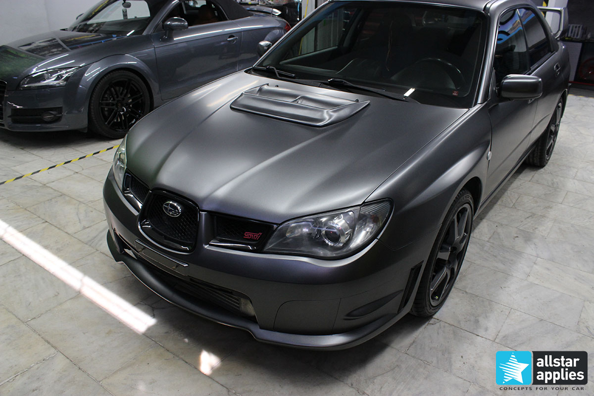 Subaru STI - Satin Dark Grey (4)
