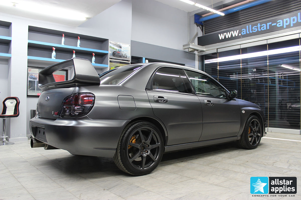 Subaru STI - Satin Dark Grey (5)