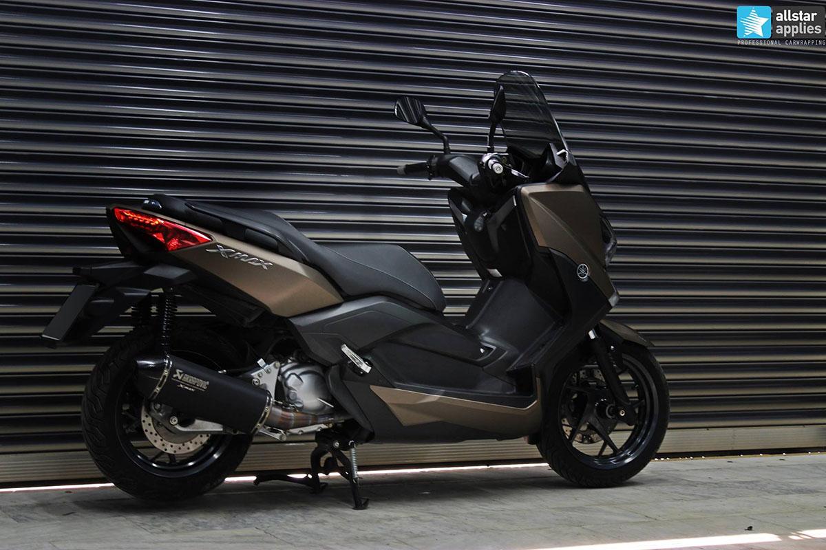 Yamaha X-max - Brown Metallic Matte (2)