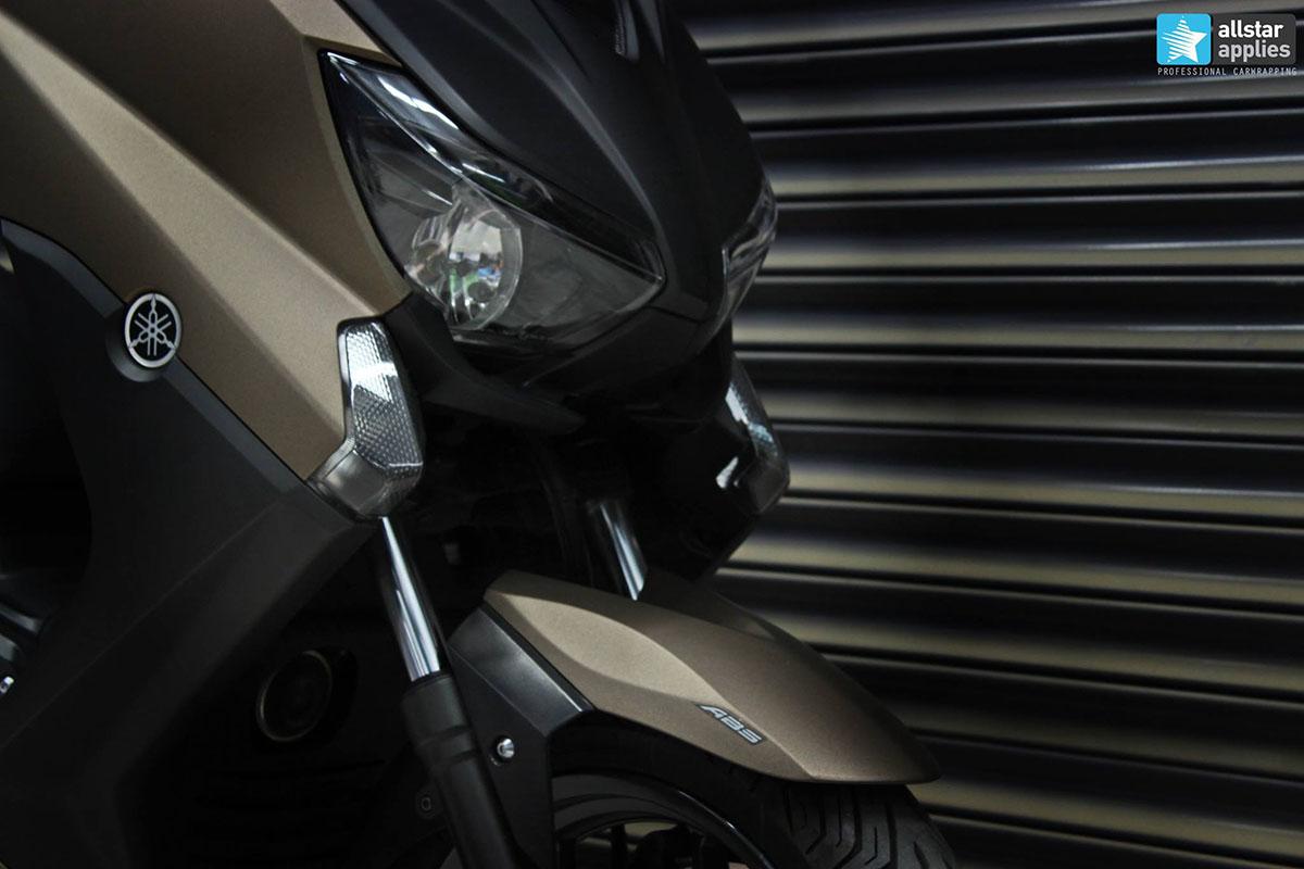 Yamaha X-max - Brown Metallic Matte (4)