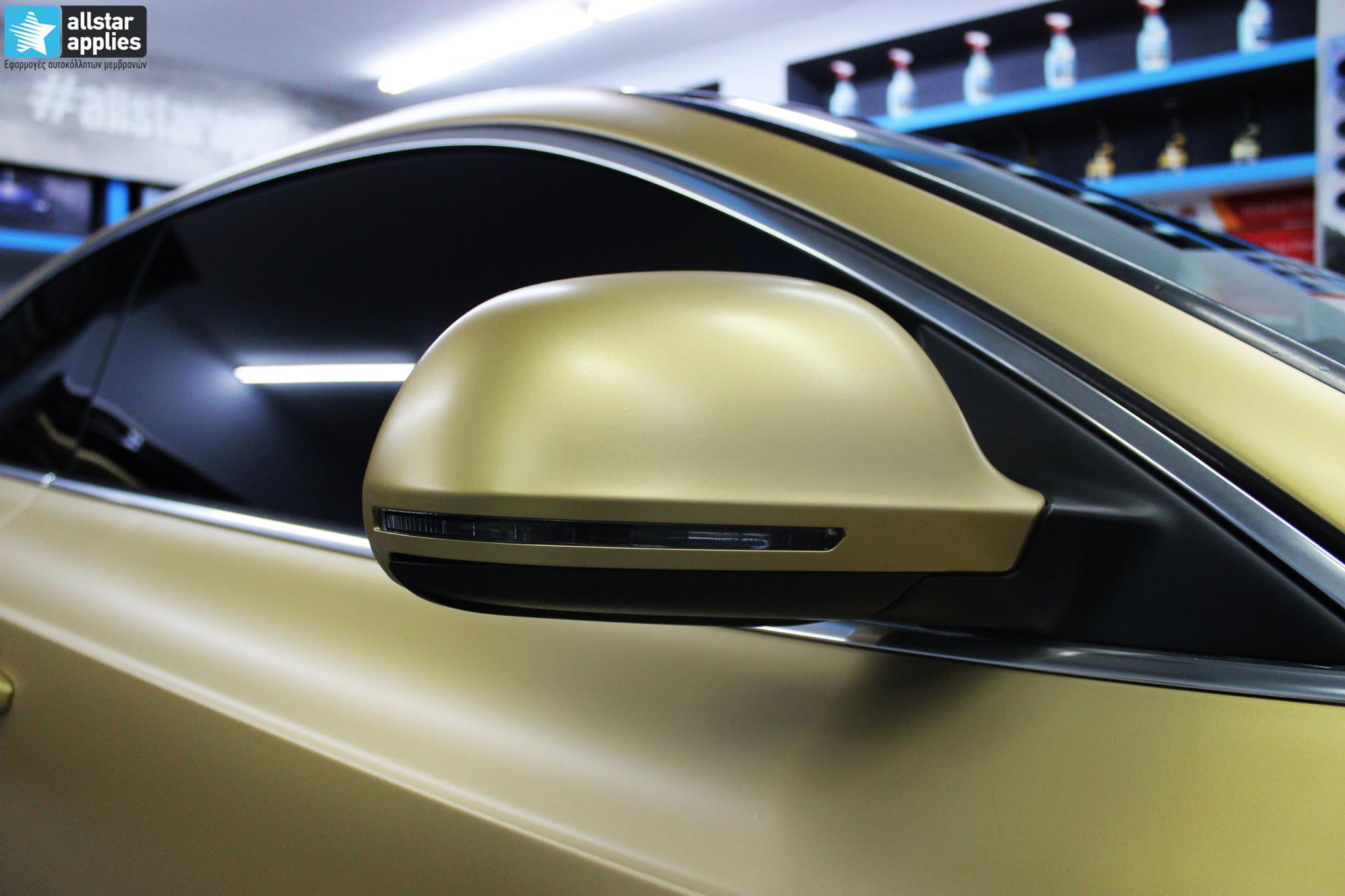 Audi A5 - Satin Gold Matte (5)