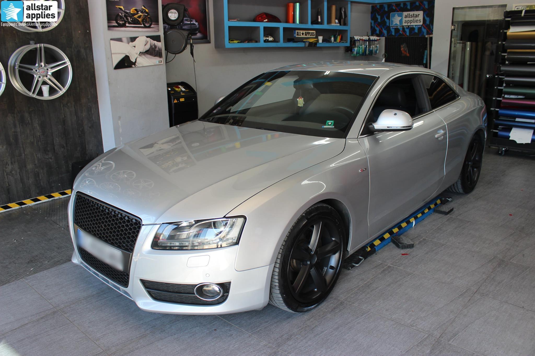 Audi A5 - Satin Gold Matte (9)
