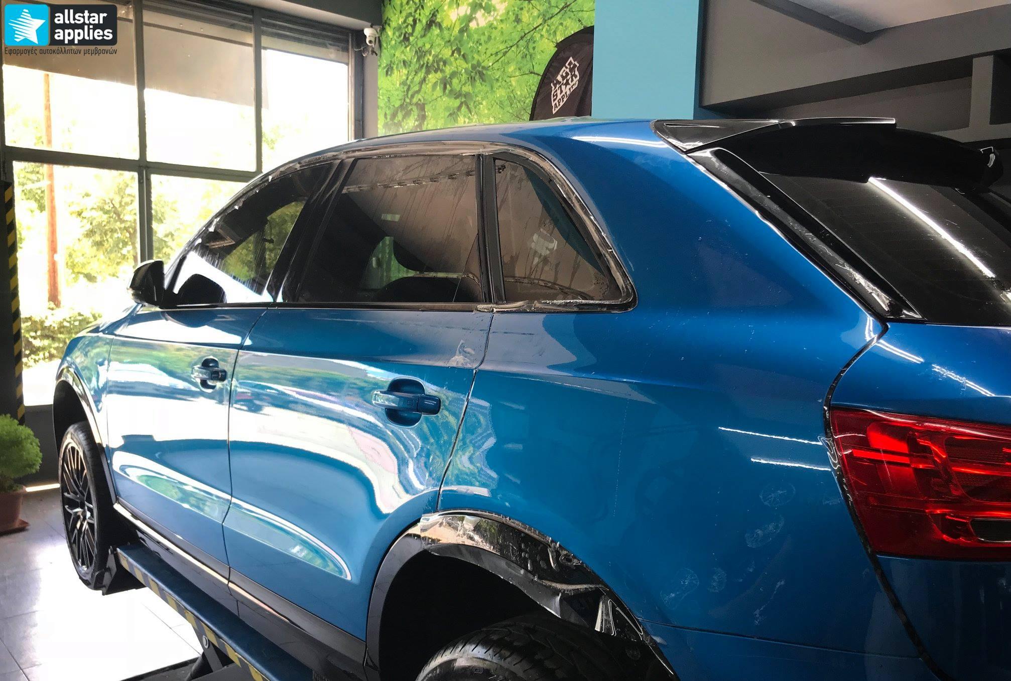 Audi Q3 – Μεμβράνες προστασίας χρώματος (Full Paint Protection Film) (10)